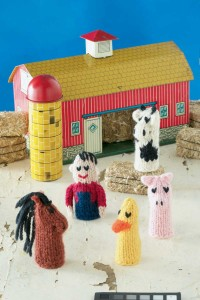 Farmyard Finger Puppets - Crochet Hand & Finger Puppets - doitory ... | 300x200