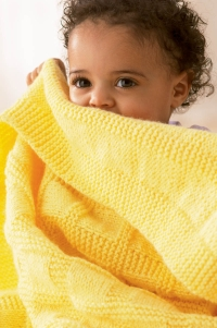 graphic relating to Free Printable Knitting Patterns for Baby Blankets known as Free of charge Sunny Little one Blanket Knitting Habit HowStuffWorks