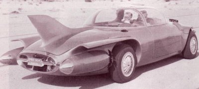 An early version of the 1956 GM Motorama Firebird II