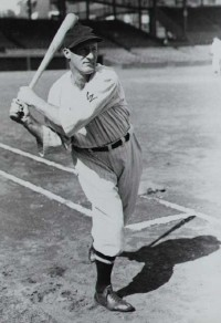In 1925, Goslin the Washington Senators in every batting department and placed high among the loop's leaders as well.