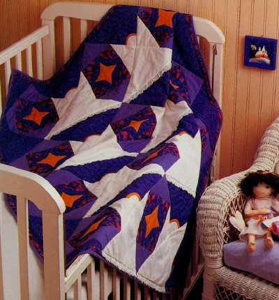 Guardian Angels Baby Quilt