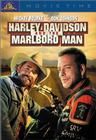 dvd cover of 'harley davidson and the marlboro man'