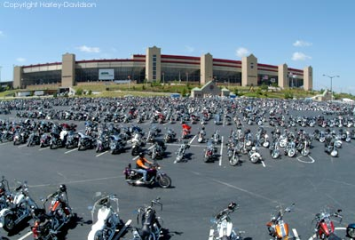 the Harley-Davidson Open Road Tour at the Altanta Motor Speedway