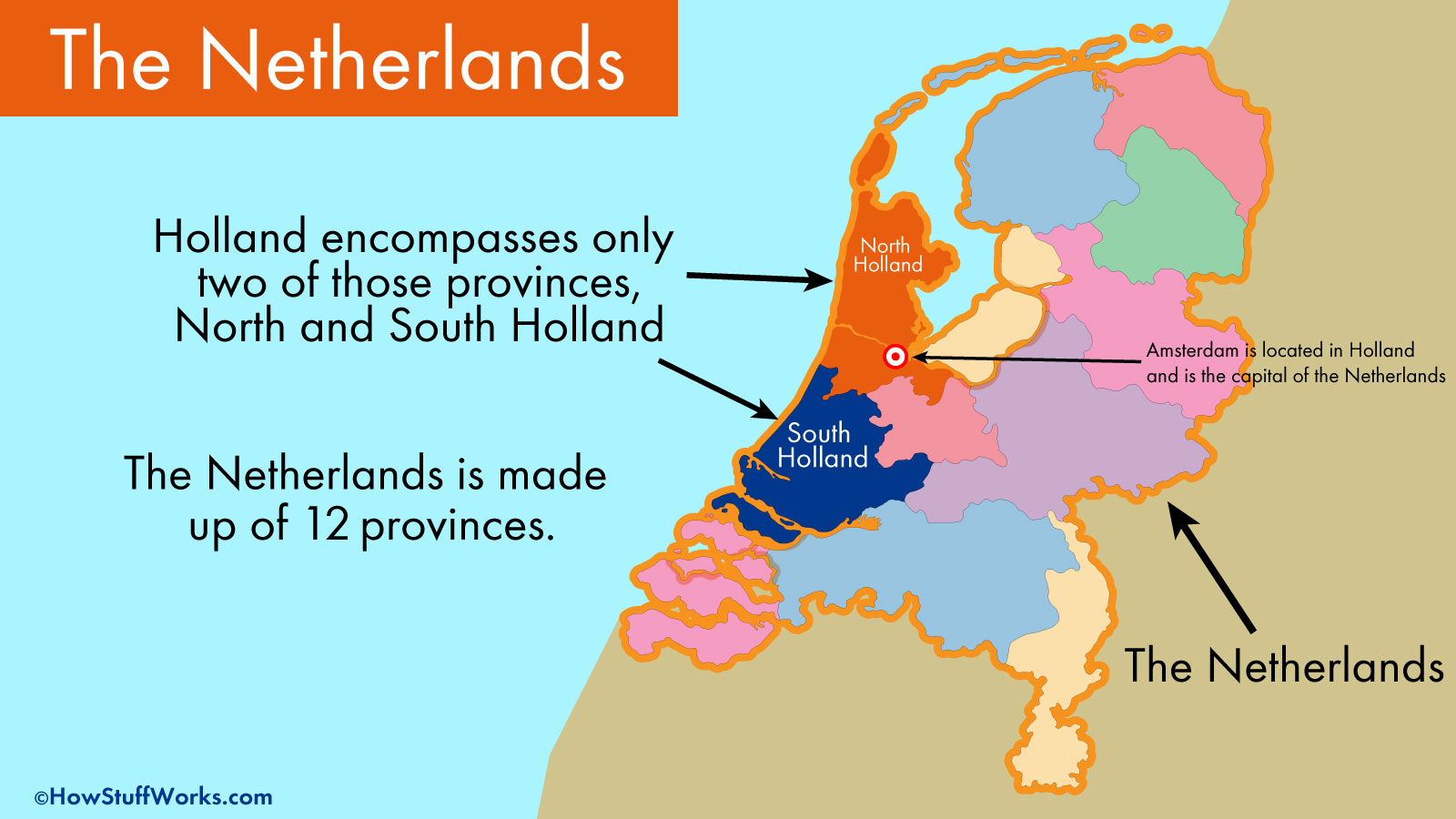Picture of: Is Holland The Same As The Netherlands Howstuffworks