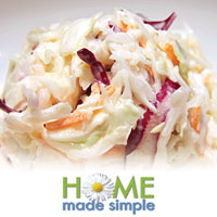 Quick Clean-Up Cole Slaw