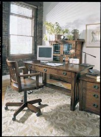 Home Office Decorating Idea Traditional Home Office