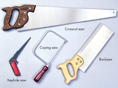 Handsaws can be used for a variety of tasks.