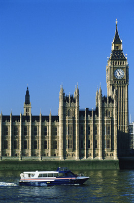 Designers Charles Barry and Augustus Pugin worked together on the Houses of Parliament.