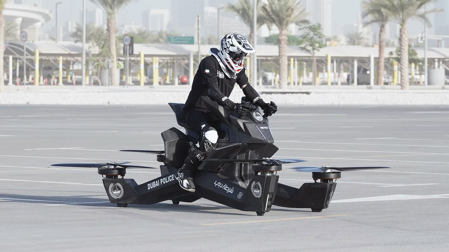 The First Ever Hoverbike in the world