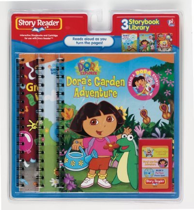 Dora the Explorer is one of the Story Reader electronic books.