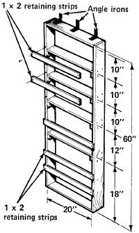 How To Build A Pantry Behind Door