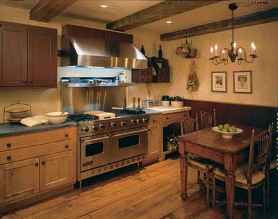 Eat in kitchens can be the height of comfort and convenience.