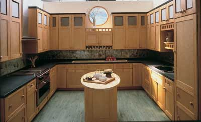 Kitchen islands can come in a variety of shapes and sizes to accommodate any kitchen.