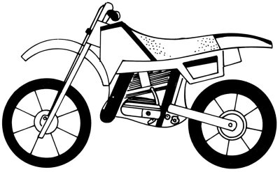 Kleurplaat Motor Harley 4 Add Spokes Hubs And Seat How To Draw A Motorcycle