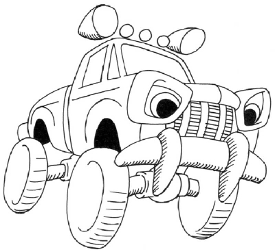 How To Draw A Cartoon Monster Truck Howstuffworks