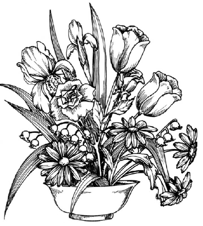 How To Draw A Flower Arrangement Howstuffworks
