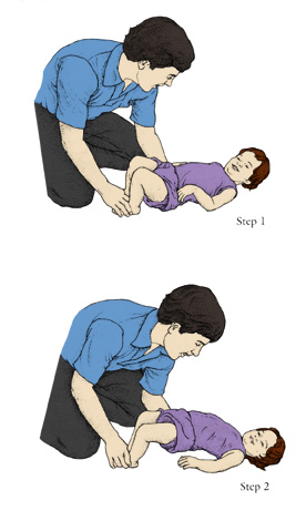 Exercises for your baby's second year include Hip Lift.