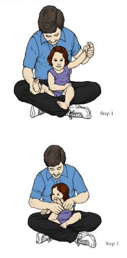 exercise with newborn