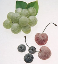 Garnish with Sugared Fruit.