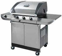 Gas grills are a popular method for grilling.