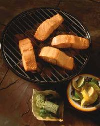When grilling salmon fillets, remember that simple grilled salmon can be paired with sauces or herb butters.