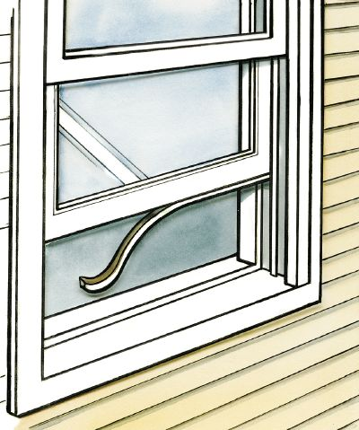 How To Install Weather Stripping Weatherstripping