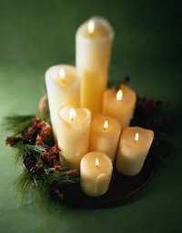 Candles are always a festive gift, especially around the holidays.