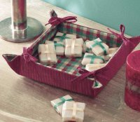 Christmas Catchall Tray is a Christmas craft you can create as a nice Christmas gift.