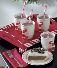Create a Candy Cane Serving Tray to serve Christmas drinks, or make as a Christmas gifts.