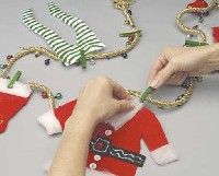 Santa Hangs It Up