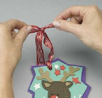 Festive Foam Ornaments