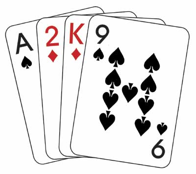 This hand has a low draw