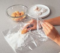 Add coatings by shaking the chicken in a sealed plastic bag to save on cleanup.