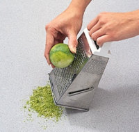For very fine zest, you will need a box grater.