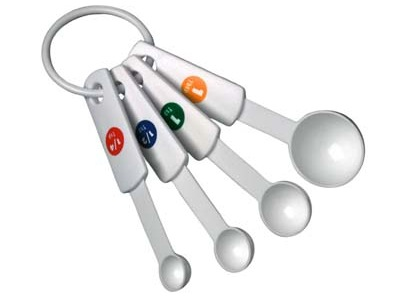 A good set of measuring spoons is one of the basic supplies you'll need to practice aromatherapy.
