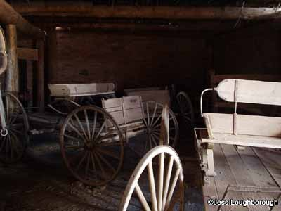 Hubbell Trading Post National Historic Site wagon.