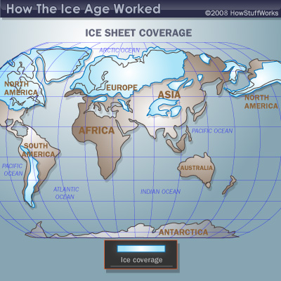 Evidence of the Ice Age | HowStuffWorks on younger dryas, prehistoric map of north america, late glacial maximum, ancient seas of north america, pleistocene ice age north america, glacial map of north america, snowball earth, little ice age, bering land bridge, cordilleran ice sheet, retreat of glaciers since 1850, glaciers covering north america, milankovitch cycles, laurentide ice sheet, ice coverage of north america, glaciers that swept over north america, ice age north america climate, post-glacial rebound, sea level rise map north america, quaternary glaciation, land bridge from asia to north america, ancient sea level map america, land bridge migration to north america, ice age glaciers north america, upper paleolithic, glacial period, last glacial period, glacier coverage north america, little ice age north america, ice sheet, migration route from europe to america, glaciers in north america, wisconsin glaciation, early migration to north america, ice age animals north america, ice age deer north america, medieval warm period,