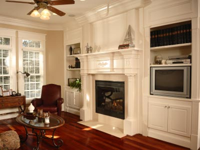 Astounding How To Install A Fireplace Mantel Howstuffworks Home Interior And Landscaping Transignezvosmurscom