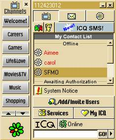 ICQ dating chat