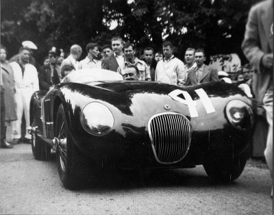 Jaguar C-Type front
