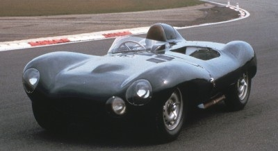 1954-1956 Jaguar D-type.