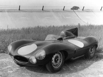 The  Jaguar D-Type won LeMans once again in 1957.
