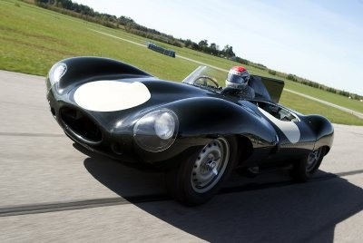 The 1954-1956 Jaguar D-Type was beloved as street sports car by enthusiasts.