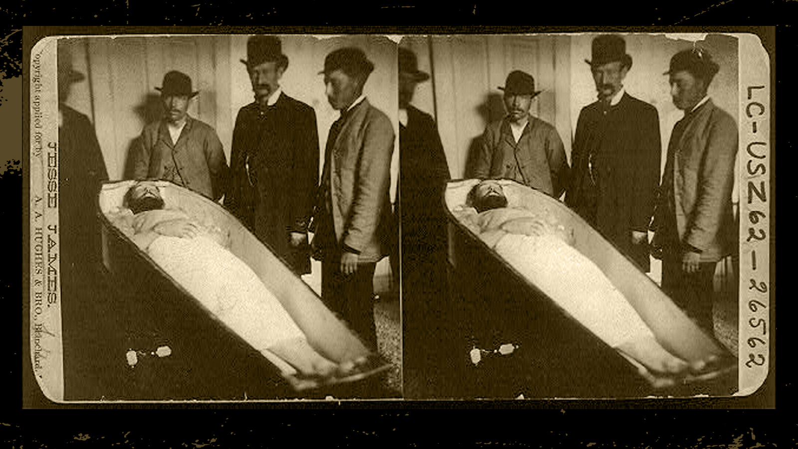 The Cold-blooded Assassination of Outlaw Jesse James