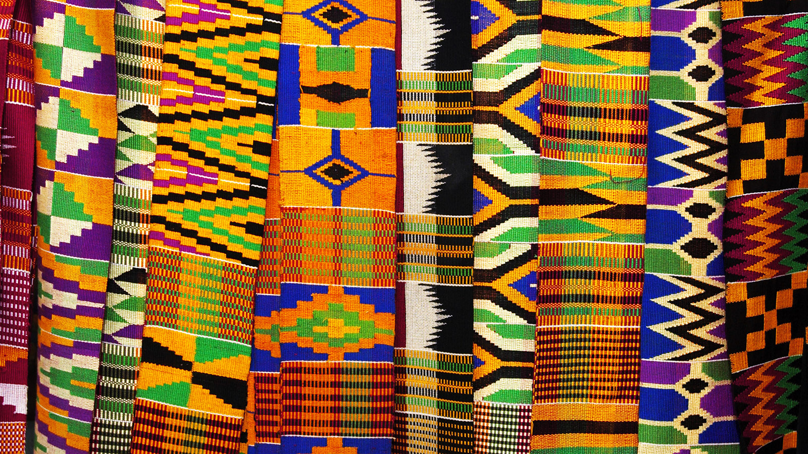 Weaving the Story of Kente Cloth, a Historic West African Fabric