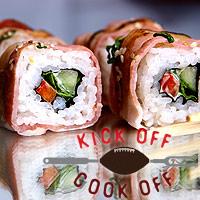 Samm and Clinton's Meat Sushi - 'Mushi'