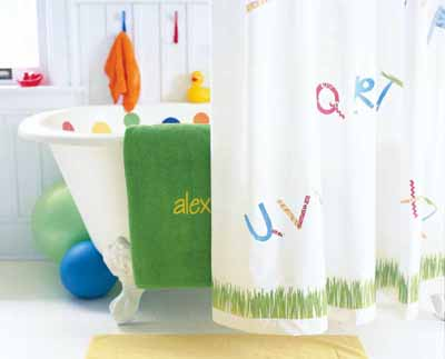 Bright And Bouncy Kids Bathroom Decorating Idea Howstuffworks