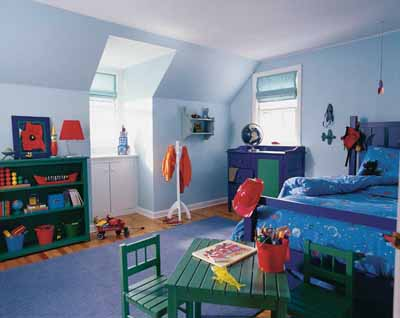 Crayon Box Colors Kids\' Bedroom Decorating Idea | HowStuffWorks