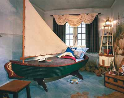 Lure of the Sea Kids\' Bedroom Decorating Idea | HowStuffWorks