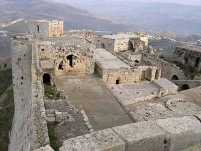 Crusaders took control of Krak des Chevaliers in 1144, building fortifications according to the latest principles of military science.